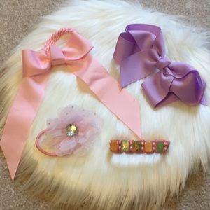 Hairbow and bracelet set